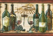 Wooden Wine Landscape