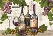 Botanical Wine Landscape