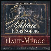 Grand Vin Wine Label I