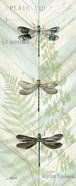 Dragonfly Botanical Panels II