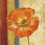 Poppy Tapestry Stripes I