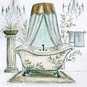 French Bath Sketch I (tub)