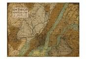 Environs NYC Sepia
