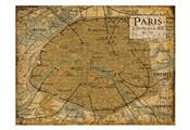 Environs Paris Sepia