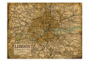 Environs London Sepia