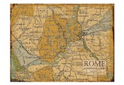 Environs Rome Sepia