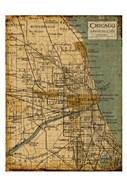 Environs Chicago Sepia