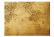 Vintage Map Indian Ocean