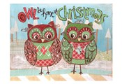 Christmas Owls 2C