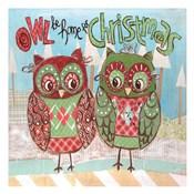 Christmas Owls 2A