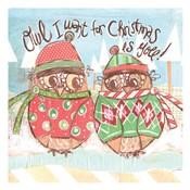 Christmas Owls 3A