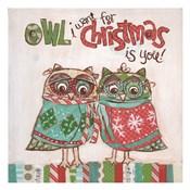 Christmas Owls 1B