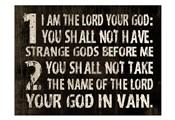 10 Commandments (1 & 2)