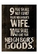 10 Commandments (9 & 10)