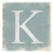K (Grey Background)