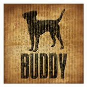 Buddy (brown background)