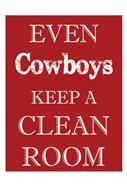 Cowboys Clean Room