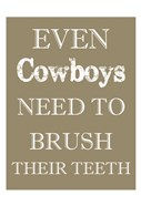 Cowboys Must Brush