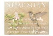 Serenity Hummingbird
