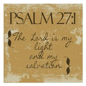 Psalms 27-1 Gold