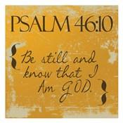 Psalms 46-10 Orange