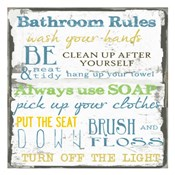 Bathroom Rules Multi 1