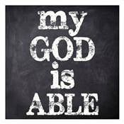 My God Is Able