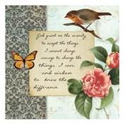 Vintage Serenity Prayer