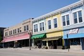 USA, Wisconsin, Manitowoc, Main Street