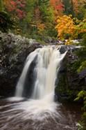 WI, Pattison SP, Little Manitou Falls, Black River