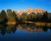 Teton Range and Snake River, Grand Teton National Park, Wyoming