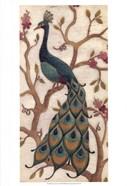 Peacock Fresco II