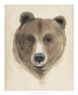 Watercolor Animal Study VI