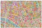 Glasgow Street Map 1