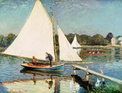 Sailing at Argenteuil, c.1874