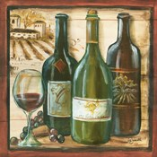 Wooden Wine Square II