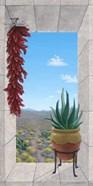 Aloe and Chilis I