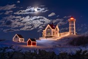 Moon Over Nubble