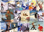 Ski Vacation Collage
