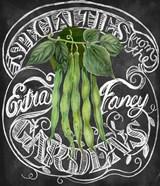 Chalkboard Green Beans