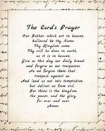 The Lord's Prayer - Script