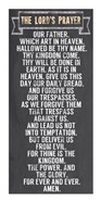 The Lord's Prayer - Chalkboard Style