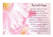 Lord's Prayer - Floral