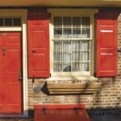 Red Door, Red Shutters
