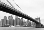 Manhattan from Brooklyn (b/w)