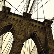 Brooklyn Bridge II (sepia) (detail)
