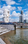 City Skyline, Fullerton, Clarke Quay, Singapore