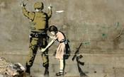 Bethlehem Wall Graffiti (horizontal)