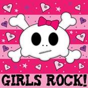 Girls Rock- Skull