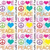 Peace Love 1